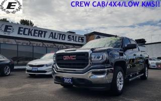 Used 2017 GMC Sierra 1500 CREW CAB/4X4/LOW KMS!! for sale in Barrie, ON