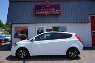 Used 2016 Hyundai Accent GL 6 VITESSES FULL A/C MAGS BLUETOOTH 102 737 KM for sale in Lévis, QC