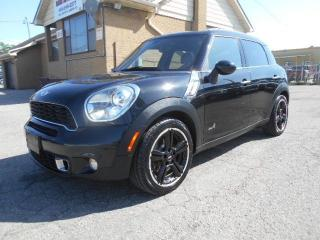 Used 2012 MINI Cooper S Countryman ALL4 1.6L Turbo 6Speed Manual Pano Roof for sale in Rexdale, ON