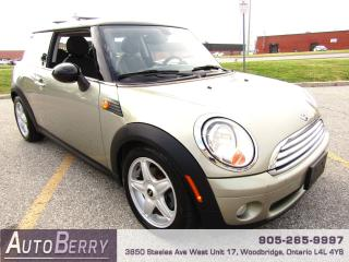 Used 2009 MINI Cooper 1.6L - 6 Speed Manual for sale in Woodbridge, ON