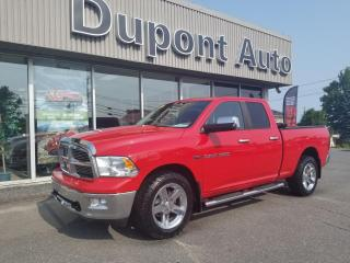 Used 2012 RAM 1500 Cabine quad 4RM, 140,5 po SLT for sale in Alma, QC