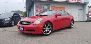 Used 2005 Infiniti G35 Auto, Leather, Roof, Certified for sale in Mississauga, ON