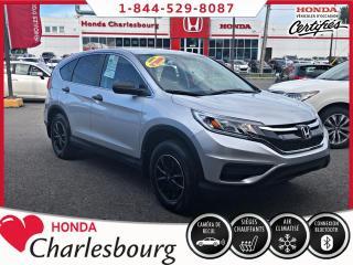 Used 2016 Honda CR-V LX 2RM **42 397 KM ** for sale in Charlesbourg, QC