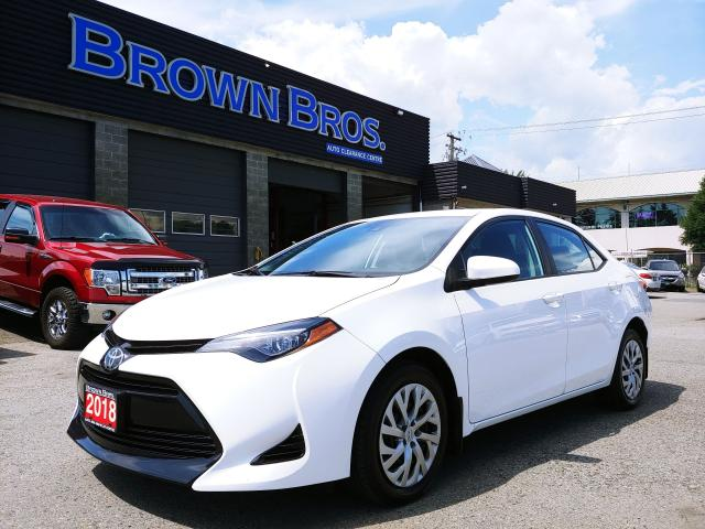2018 Toyota Corolla LE BLUETOOTH, HTD SEATS, BACKUP CAM