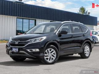 Used 2015 Honda CR-V EX,ONE OWNER,AWD,R/V+L/W CAMS,ECON,PWR S/ROOF for sale in Barrie, ON