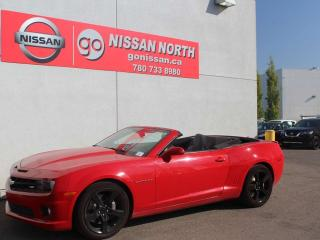 Used 2011 Chevrolet Camaro 2SS/CONVERTIBLE/LEATHER for sale in Edmonton, AB