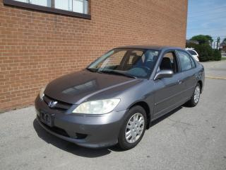 Used 2004 Honda Civic LX/ONE OWNER for sale in Oakville, ON