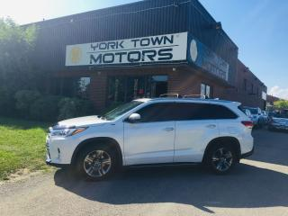 Used 2017 Toyota Highlander LIMITED/DriverAssistPkg/Nav/BackCam/No Acc/ for sale in North York, ON