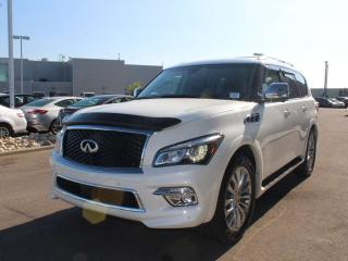 Used 2015 Infiniti QX80 Limited AWD TECHNOLOGY PACKAGE LEATHER NAV for sale in Edmonton, AB
