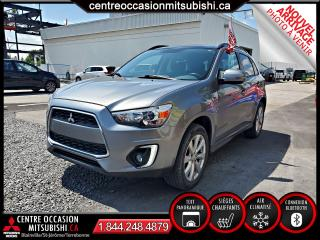 Used 2015 Mitsubishi RVR GT TOIT-PANO, HID, MAGS 18 PO, CAMERA for sale in Blainville, QC