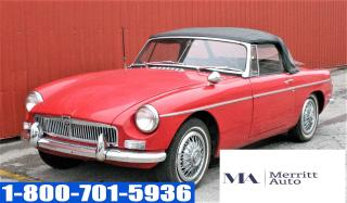 Used 1966 MG MGB Roadster for sale in London, ON