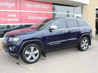 Used 2014 Jeep Grand Cherokee Limited / GPS Navigation / Back Up Camera for sale in Edmonton, AB