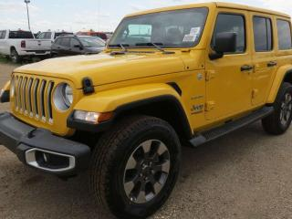 New 2019 Jeep Wrangler Unlimited Sahara for sale in Edmonton, AB