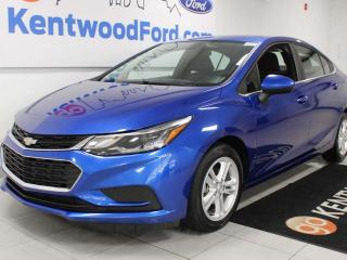 Used 2018 Chevrolet Cruze LT FWD with heated seats and a back up cam for sale in Edmonton, AB