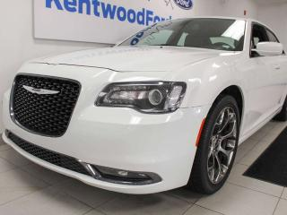 Used 2018 Chrysler 300 S RWD with heated leather seat, push start/stpo and back up cam for sale in Edmonton, AB