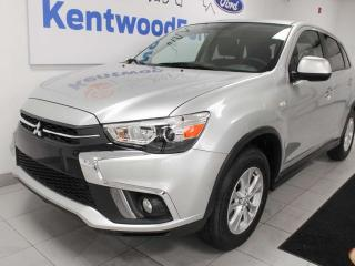 Used 2019 Mitsubishi RVR SE AWC with heated seats and a back up cam for sale in Edmonton, AB