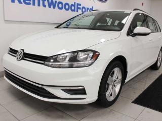 Used 2018 Volkswagen Golf Sportwagen Trendline AWD 4motion hatchback with power heated seats and back up cam for sale in Edmonton, AB