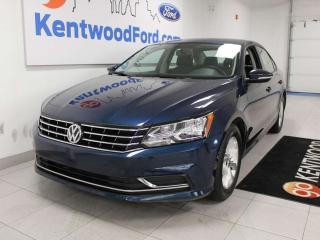 Used 2018 Volkswagen Passat Trendline+ FWD in a magnificent blue for sale in Edmonton, AB