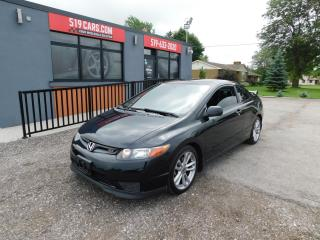 Used 2007 Honda Civic SI|SUNROOF|ALLOY WHEELS|AFTERMARKT EXHAUST for sale in St. Thomas, ON