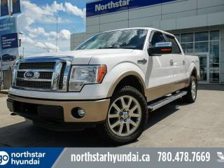 Used 2011 Ford F-150 KING RANCH CREW/NAV/LEATHER/SUNROOF/TONNEAUCOVER for sale in Edmonton, AB