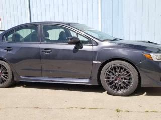 Used 2017 Subaru WRX STI; LOADED, BLUETOOTH, BACKUP CAM, HEATED SEATS, LEATHER, SUNROOF AND MORE for sale in Edmonton, AB