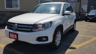 Used 2015 Volkswagen Tiguan AWD-BLUETOOTH-4CYL TURBO-ALLOY WHEELS for sale in Tilbury, ON