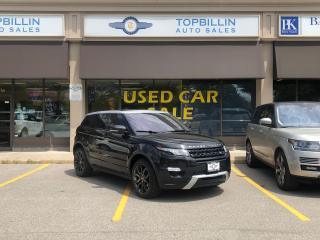 Used 2013 Land Rover Range Rover Evoque Dynamic, Navi, Pano Roof, B Cam for sale in Vaughan, ON