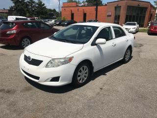 Used 2010 Toyota Corolla 5spd,NO ACCIDENT,$4388,SAFETY+3YERS WARANTY INCLUD for sale in Toronto, ON