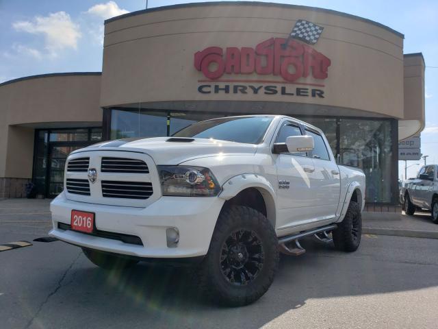 2016 RAM 1500 Sport+NAV-READY+OFF ROAD WHEELS & TIRES