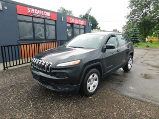 Used 2015 Jeep Cherokee Sport|BLUETOOTH|BACKUP CAMERA|4X4 for sale in St. Thomas, ON