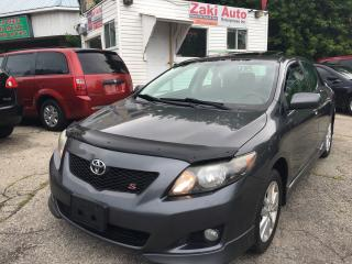 Used 2010 Toyota Corolla S/Safety Certification Included Price for sale in Toronto, ON
