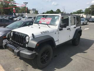 Used 2018 Jeep Wrangler Willys Wheeler for sale in Halifax, NS
