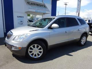Used 2012 Buick Enclave CXL AWD, Leather, Sunroof, Camera/Sensors for sale in Langley, BC