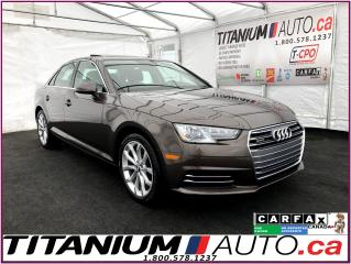 Used 2017 Audi A4 Progressiv+ Quattro+GPS+Camera+Park Sensors+HID+XM for sale in London, ON