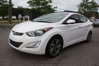Used 2016 Hyundai Elantra Limited LEATHER SUNROOF NAVI for sale in Toronto, ON