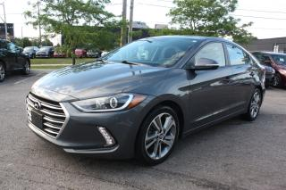 Used 2017 Hyundai Elantra GLS ACCIDENT FREE SUNROOF for sale in Toronto, ON