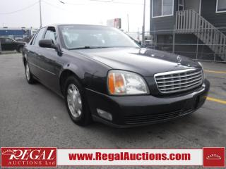 Used 2002 Cadillac DeVille Base 4D Sedan for sale in Calgary, AB