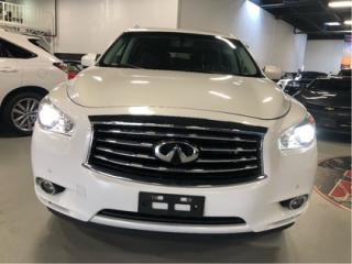Used 2013 Infiniti JX35 7 PASSENGER   NAVI   SONAR SYSTEM   INCOMING for sale in Vaughan, ON