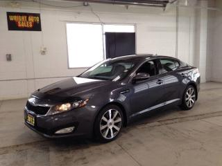 Used 2013 Kia Optima EX NAVIGATION MOON ROOF LEATHER 90,447 KMS for sale in Cambridge, ON