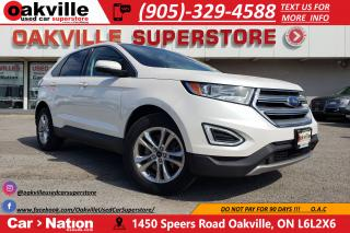 Used 2016 Ford Edge SEL | NAVI | LEATHER | PANO ROOF | B/U CAM for sale in Oakville, ON