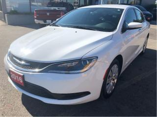 Used 2016 Chrysler 200 LX 4 Cylinder Automatic w/Low KMS, Clean Carproof for sale in Hamilton, ON