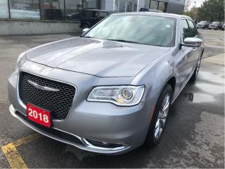 Used 2018 Chrysler 300 Limited AWD V6 w/Pano Sunroof, Navi, Heated Wheel for sale in Hamilton, ON