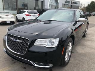 Used 2018 Chrysler 300 Limited AWD V6 w/Heated/Cooled Seats, Premium Audi for sale in Hamilton, ON