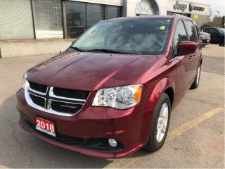 Used 2018 Dodge Grand Caravan Crew Plus w/Leather, Navi, Safety Sphere for sale in Hamilton, ON