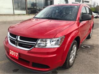 Used 2017 Dodge Journey CVP 4 Cyl w/Lots of Storage, Low KMS, Clean CarFax for sale in Hamilton, ON