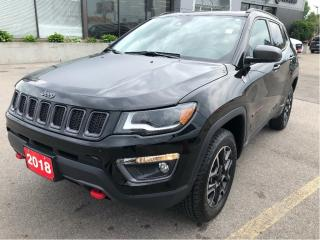 Used 2018 Jeep Compass Trailhawk 4x4 w/Safety Tech, Sunroof, Navi, Leathe for sale in Hamilton, ON