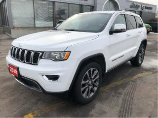 Used 2018 Jeep Grand Cherokee Limited 4x4 V6 w/Leather, Sunroof, Navi, Tow Pack for sale in Hamilton, ON