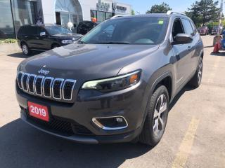 New 2019 Jeep Cherokee LIMITED 4X4 V6 for sale in Hamilton, ON