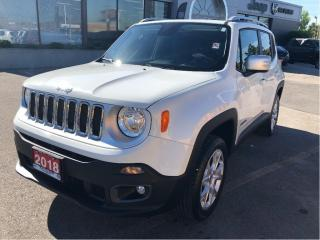 Used 2018 Jeep Renegade Limited 4x4 w/Navi, Sunroof, Remote Start for sale in Hamilton, ON
