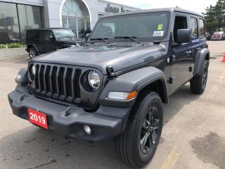 New 2019 Jeep Wrangler Unlimited Sport S 4x4 V6 for sale in Hamilton, ON